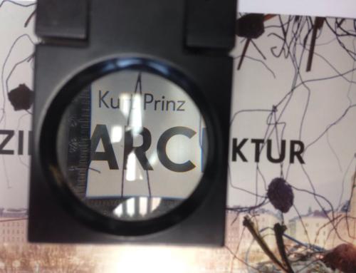 Andruck »Kurt Prinz – Sezierte Architektur«