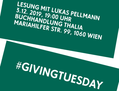 Lesung mit Lukas Pellmann am #GIVINGTUESDAY